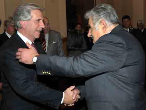Vázquez y Mujica comieron pizza y analizaron la interna del FA