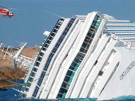 Encuentran ocho cuerpos más en el Costa Concordia