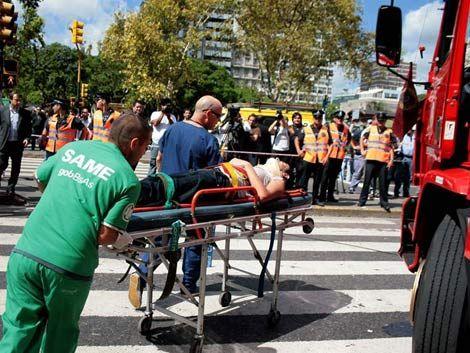 Choque de un tren en Buenos Aires deja al menos 49 muertos