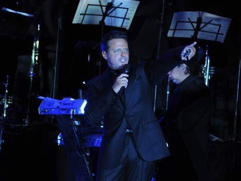 Luis Miguel en Punta: ofreció un recital y jugó a la ruleta
