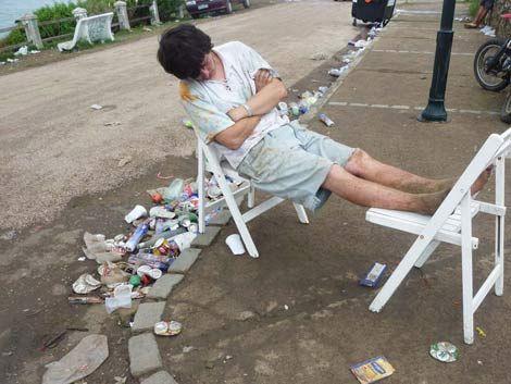 El día después del carnaval de La Pedrera