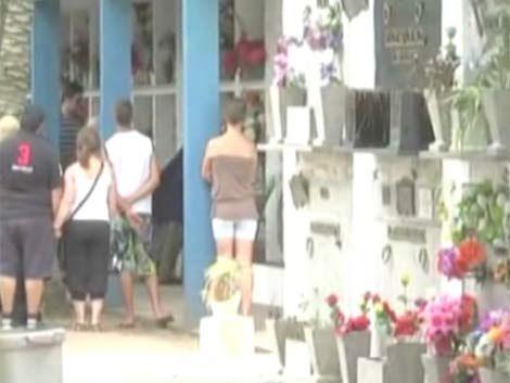 Fue sepultado el policía que falleció por disparo de efectivo