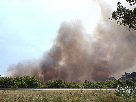 Bomberos controló el incendio desatado en la Interbalnearia