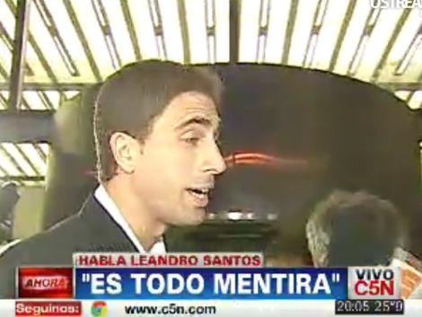 Leandro Santos fue detenido por Interpol en Buenos Aires