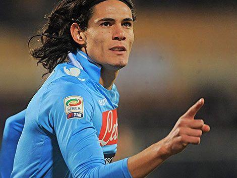 Doblete de Cavani en la victoria del Nápoli ante Fiorentina