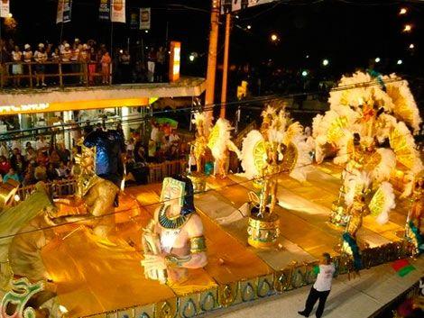 Subrayado estuvo en la previa del Carnaval de Artigas