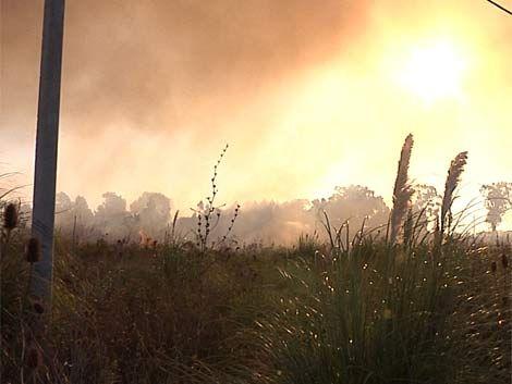 Extinguieron incendio en Suárez que afectó a tres viviendas