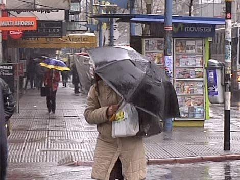 Tome el paraguas y tenga paciencia: se vienen días lluviosos