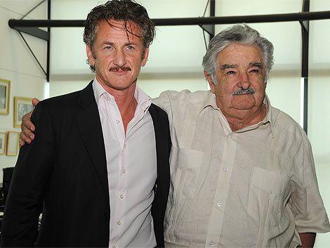 Mujica recibió a Sean Penn