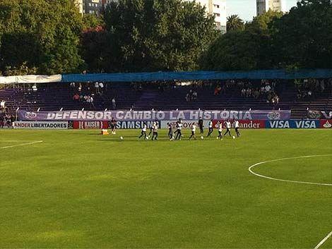Ganó y respira: Defensor Sporting 2 - Deportivo Quito 0