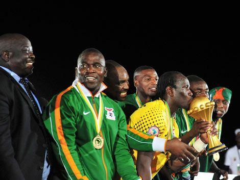 Zambia se consagró campeón de la Copa África