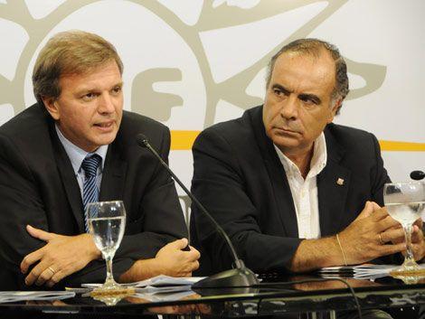 Se puso en marcha el objetivo Mundial Uruguay Argentina 2030