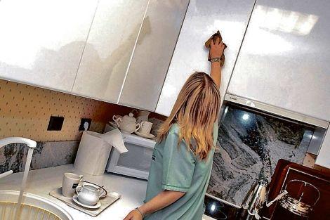 El 94% de las casas del Este no tenían a sus domésticas en regla
