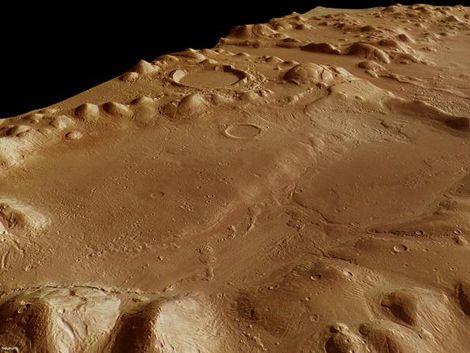 Encuentran pruebas de que un océano cubrió parte de Marte