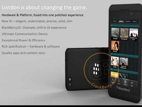BlackBerry cada vez más parecido a iPhone: saldrá sin teclado