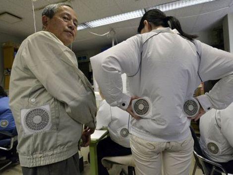 La nueva moda en Japón: ropa con aire acondicionado