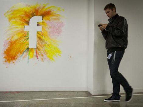 Facebook presentó solicitud para ingresar en la bolsa