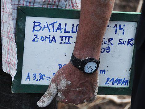 Los restos hallados en el Batallón 14 pertenecen a Julio Castro