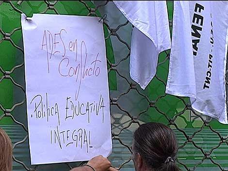 Desalojo pacífico de la ocupación en Secundaria