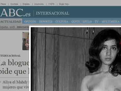 Bloguera egipcia podría ser castigada con 80 latigazos