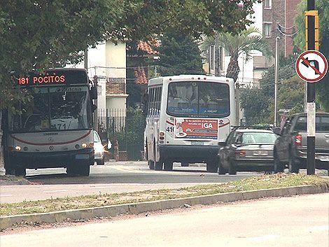 El servicio de ómnibus comienza a nrormalizarse este jueves