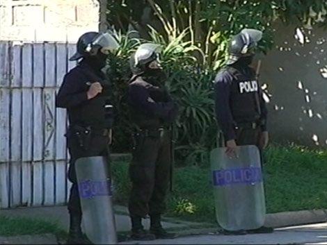 Coracero intentaba evitar un robo y fue herido por sus colegas