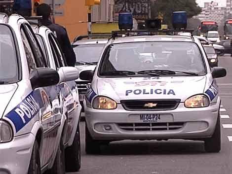 Rapiña fue frustrada en plena avenida 18 de julio