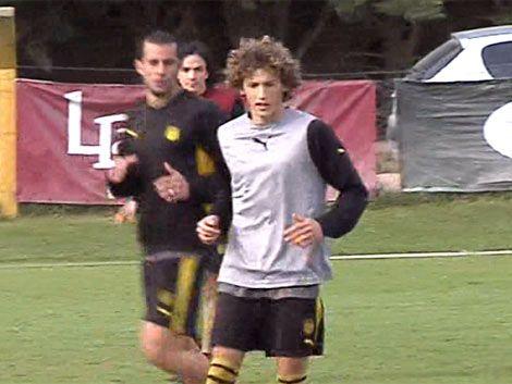 Maximiliano Pérez jugará su primer clásico el domingo