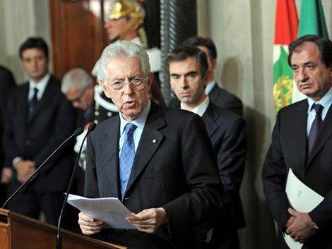 Monti es el nuevo presidente de Italia y el ministro de Economía