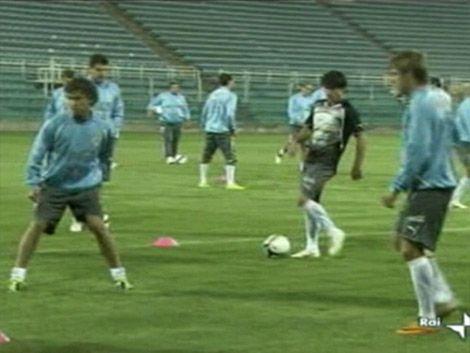 Uruguay e Italia confirmados para el amistoso de este martes
