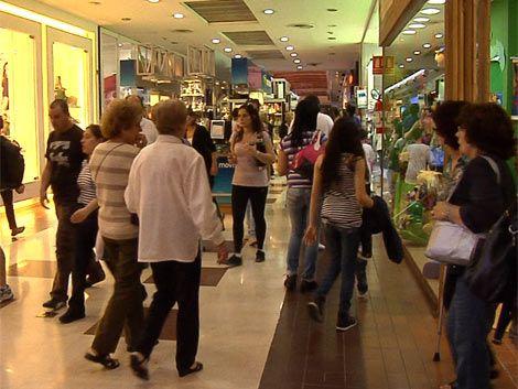 Shoppings duplicaron las ventas este fin de semana