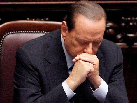 Berlusconi a punto de dejar el gobierno italiano