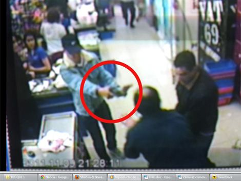 Video registra asesinato a sangre fría del guardia de seguridad