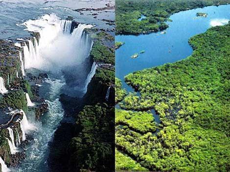 Cataratas y Amazonas integran las nuevas 7 maravillas del mundo
