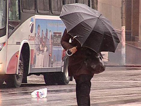 Alerta meteorológica: lluvias