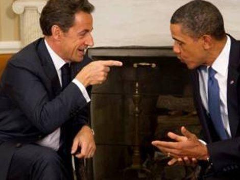 Sarkozy le dijo a Obama que el Premier israelí es un mentiroso