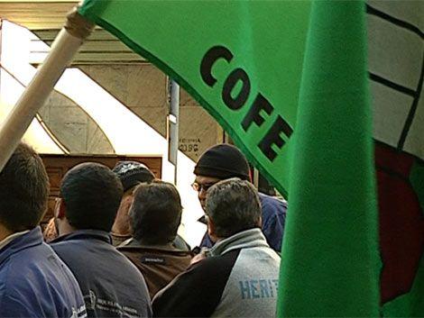 COFE inició ola de paros que afectará a todos los ministerios