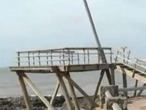 Sorprendente mejora de niña accidentada en Punta del Este
