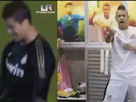 Neymar y Cristiano Ronaldo causan furor afuera de las canchas