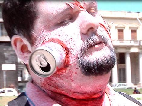 Los zombies tomaron 18 de Julio