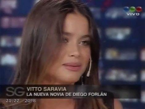 Victoria Saravia y Diego Forlán pasarán Navidad en Punta