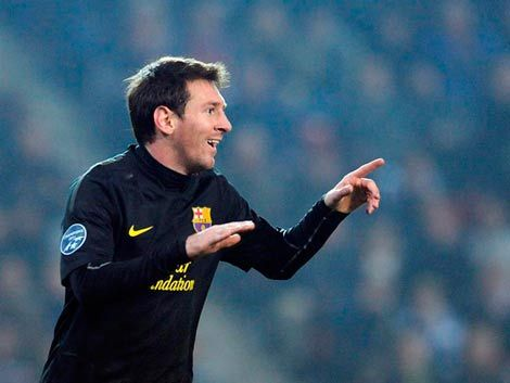 Nuevo triplete para Messi