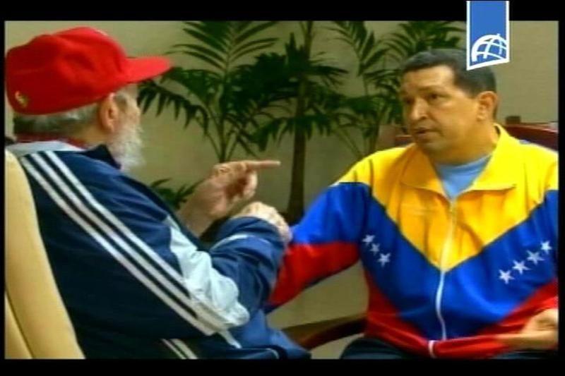 Con la ayuda de Fidel