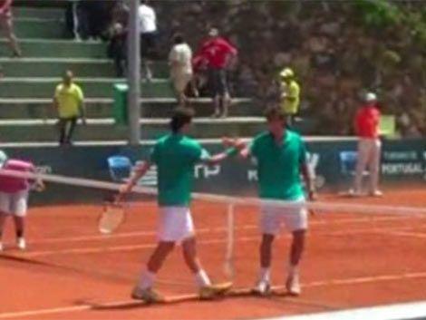 Cuevas perdió con Del Potro la semifinal de Estoril