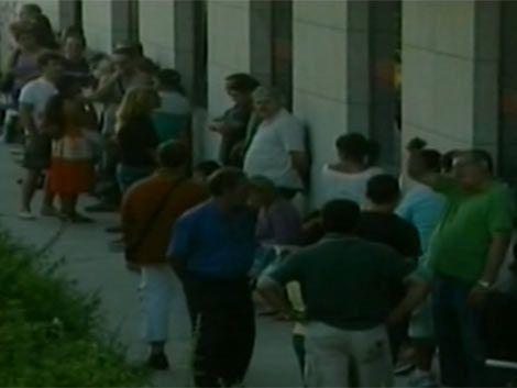 España tiene casi cinco millones de desempleados