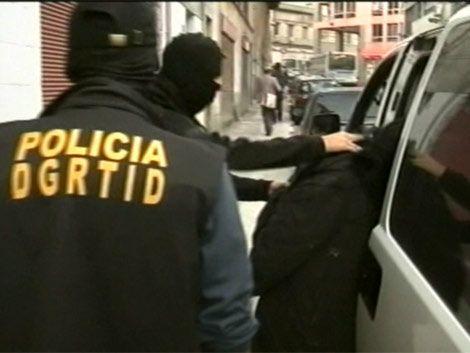 Dos colombianos procesados por narcotráfico; uruguayos declaran