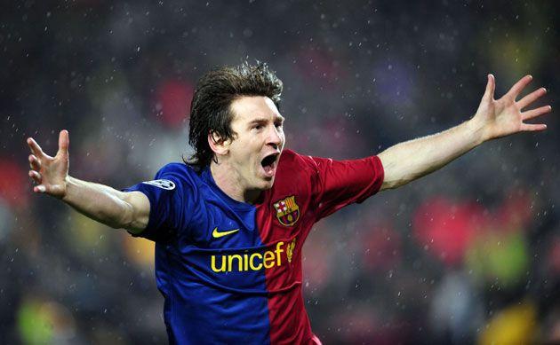 El Barcelona truinfó con dos goles de Messi