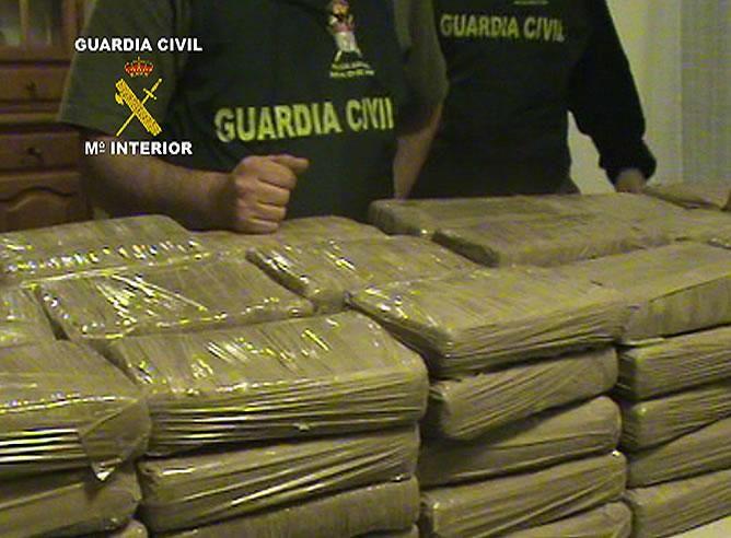 Brigada Antidrogas incautó 119 kilos de cocaína