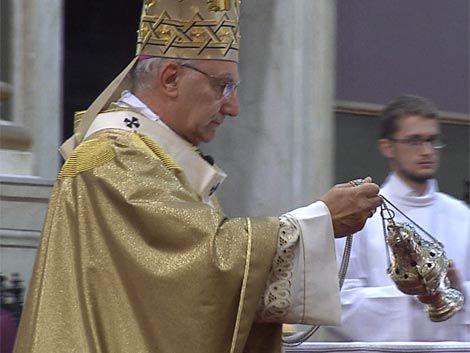 Católicos recordaron la Última Cena