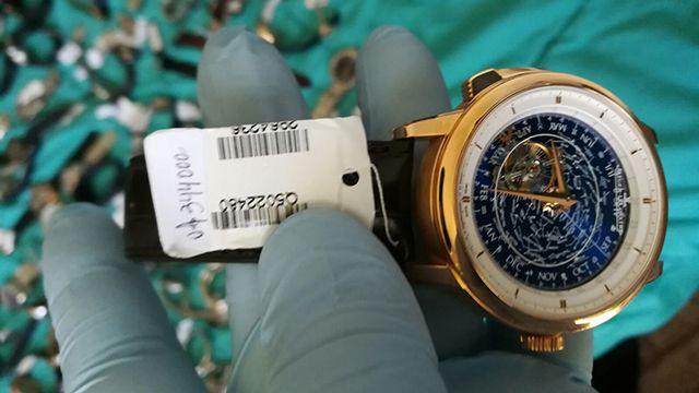 El reloj de 344.000 dólares y las joyas robadas por la banda mexicana